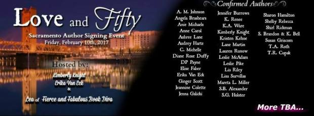 Love and Fifty Sac New Banner